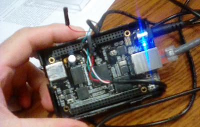 Beaglebone with UART1 cable